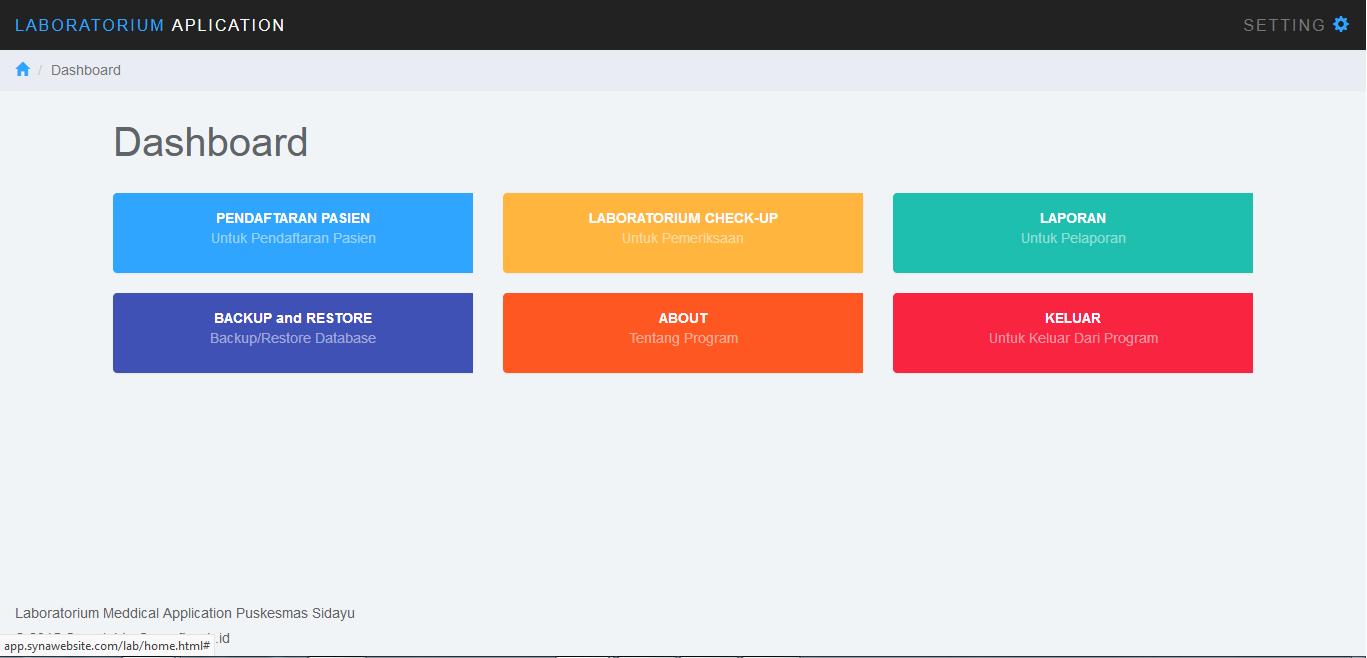 Source code aplikasi laboratorium meddical puskesmas for Organigrama de una empresa constructora
